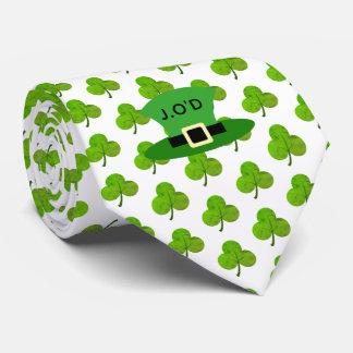 Kleeblatt u. Stovepipe-Hut Krawatte