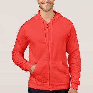 Kleiderkalifornien-Fleece-Ziphoodie-Unisext-shirt Hoodie