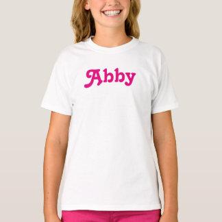 Kleidungs-Mädchen Abby T-Shirt