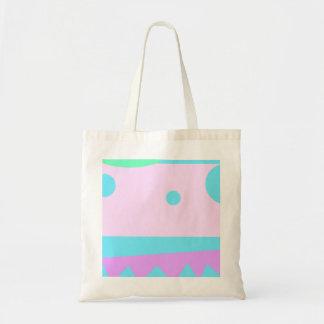 Kleine abstrakte Monster-Taschentasche Tragetasche