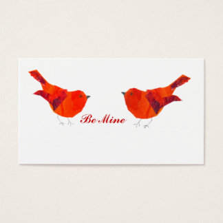 Kleine ACEO Valentinstag-Karte Visitenkarte