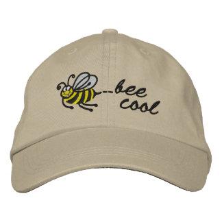 Kleine Biene - Biene cool - Kappe Bestickte Kappe