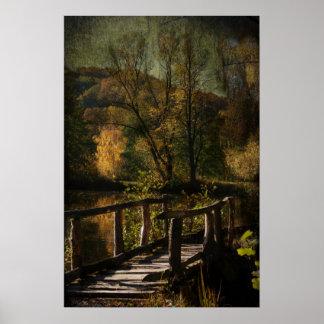 Kleine Brücke Poster