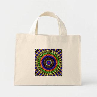 Kleine bunte Kreis-Taschen-Tasche Mini Stoffbeutel