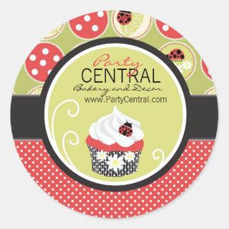 Kleine Dame Business Sticker