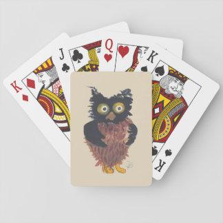 Kleine Eulen-Spielkarten Spielkarten