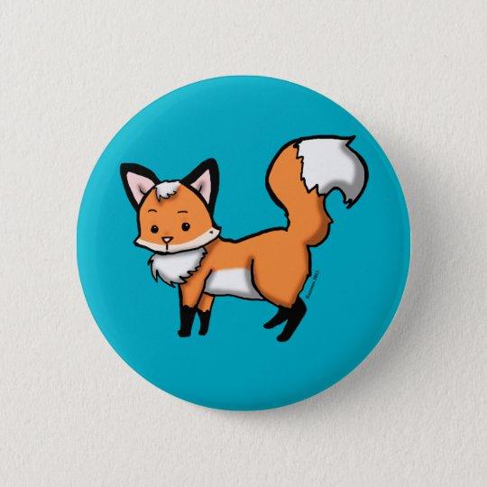 Kleine Fox-Knöpfe Runder Button 5,1 Cm