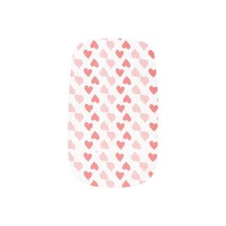 Kleine Herz-Nagel-Kunst Minx Nagelkunst