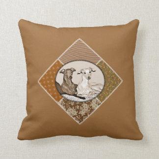 Kleine italienische Windhunde Kissen