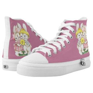 Kleine Kaninchen Hoch-geschnittene Sneaker