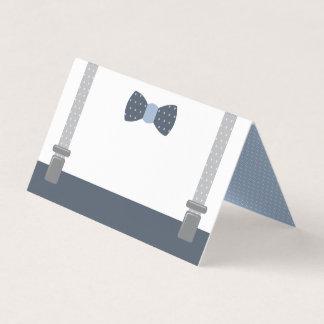 Kleine Mann-Platzkarten, Nahrungsmittelkarten Platzkarte