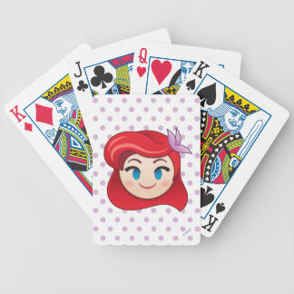 Kleine Meerjungfrau Emoji | Prinzessin Ariel Bicycle Spielkarten