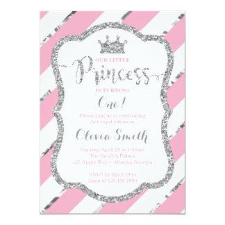 Kleine Prinzessin Birthday Invitation Pink u. 12,7 X 17,8 Cm Einladungskarte