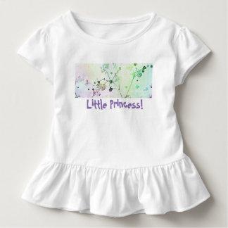 Kleine Prinzessin Toddle Tee | gekräuselt