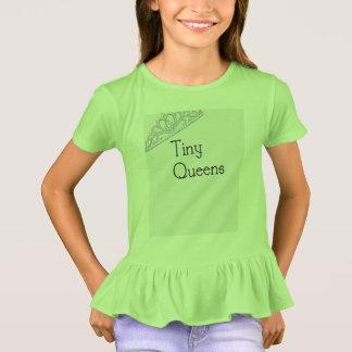 Kleine Queens-Rüsche T T-Shirt