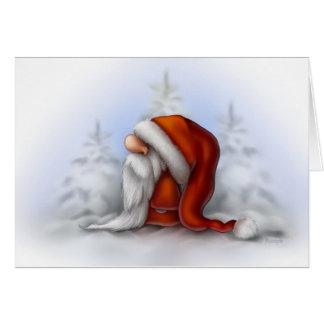 Kleine Sankt im Schnee Karte