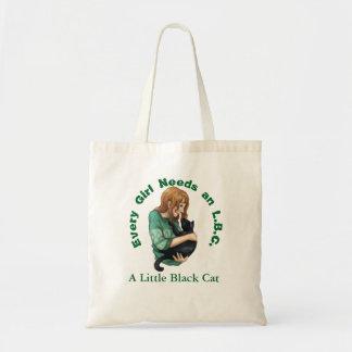 Kleine schwarze Katzen-Taschen-Tasche Tragetasche