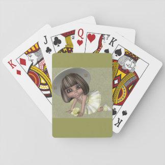 Kleine Spielkarte Sally