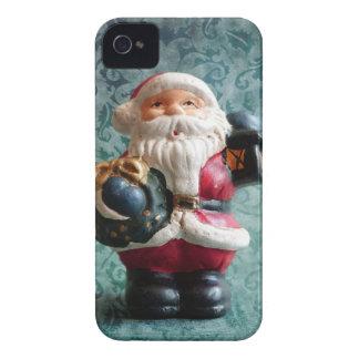 Kleine Weihnachtsmann-Zahl Case-Mate iPhone 4 Hüllen