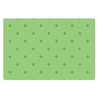 Kleinen Kleeblatt-St Patrick Tagesdruck Seidenpapier