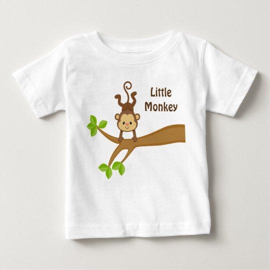 Kleiner Affe-kundenspezifischer Baby T-shirt