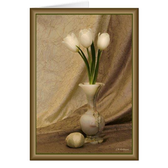 Kleiner Alabaster-Vase Karte