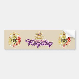 Kleiner Autoaufkleber Fräulein-Royalty