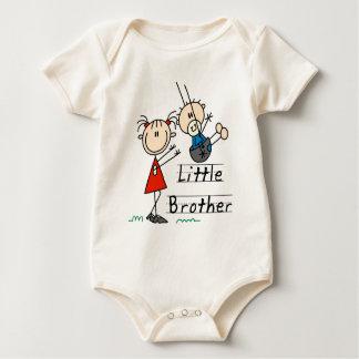 Kleiner Bruder mit große Schwester-T-Shirts Baby Strampler