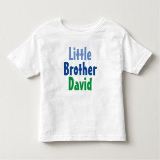 Kleiner Bruder-T - Shirt-individueller Name Kleinkind T-shirt
