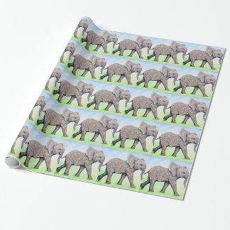 Kleiner Elefant Geschenkpapier