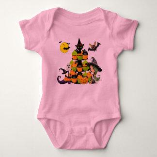 Kleiner Hexe-Baby-Jersey-Bodysuit Baby Strampler