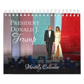 Kleiner Kalender 2018 Präsidenten-Donald Trump
