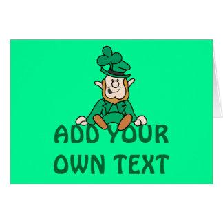 Kleiner Kobold - addieren Sie Ihren eigenen Text Karte