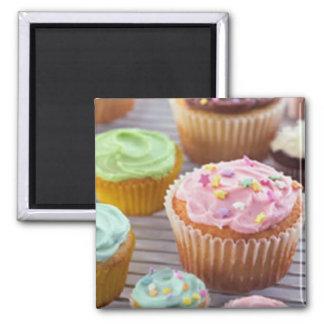 kleiner Kuchen Quadratischer Magnet