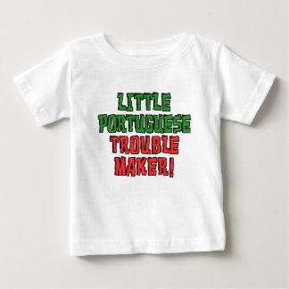 Kleiner portugiesischer Unruhestifter Baby T-shirt