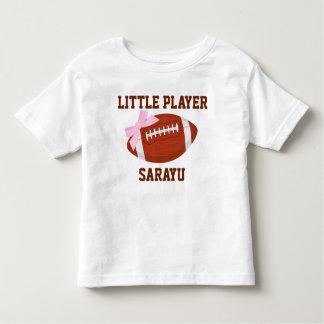 Kleiner Spieler-kundenspezifischer Kleinkind T-shirt