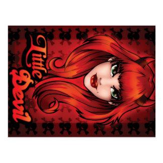 Kleiner Teufel Postkarte