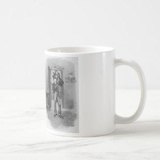 Kleiner Tim und Bob Cratchit. Kaffeetasse