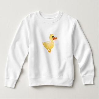 """""""Kleines Baby-Liebe-Siegel-"""" Enten-Strickjacke Sweatshirt"""