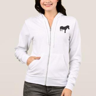 Kleines die Shetlandinseln-Pony Hoodie
