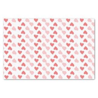Kleines Herz-Seidenpapier Seidenpapier