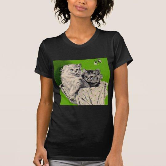 kleines Kätzchen des großen Kätzchens T-Shirt