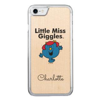 Kleines kleines Fräulein Giggles Likes To Laugh Carved iPhone 8/7 Hülle