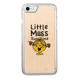 Kleines kleines Fräulein Sunshine Laughs Carved iPhone 8/7 Hülle
