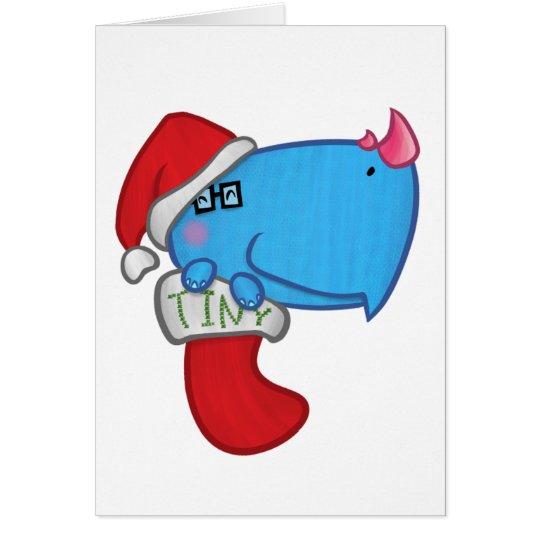 Kleines kleines Weihnachten Karte