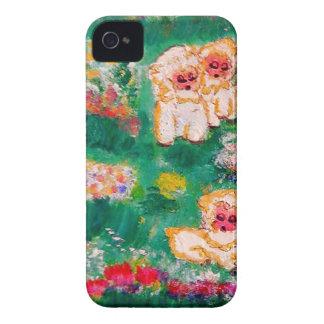 Kleines Lamm, das in den Blumen spielt Case-Mate iPhone 4 Hülle