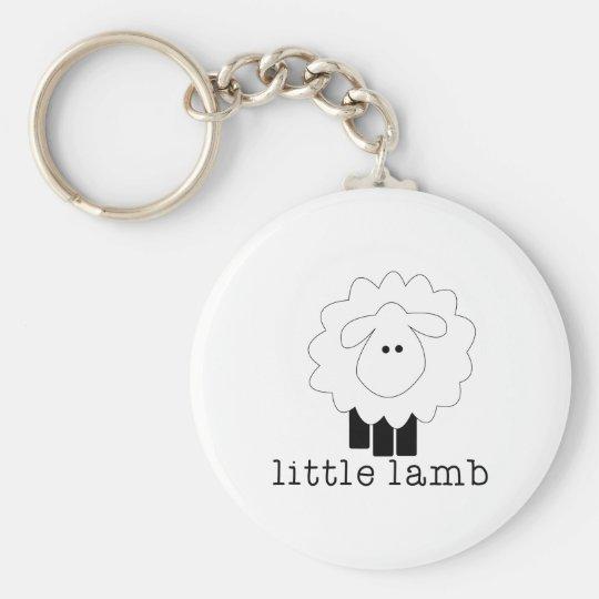 Kleines Lamm Schlüsselanhänger