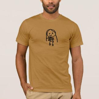 Kleines Mädchen T-Shirt
