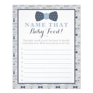 Kleines Mann-Babyparty-Spiel, Säuglingsnahrung, Flyer