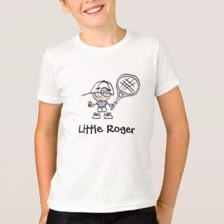 Kleines Roger-Tennis-Cartoon-T-Shirt für Jungen T-Shirt